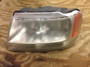 2002 Jeep Grand Cherokee Headlight Driver 1999 2004 Overland Limited
