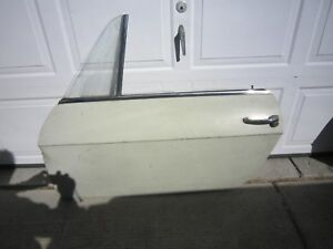 Lancia Fulvia 1967 To 1973 Original Aluminum Door Lh Driver Side Nearly Complete