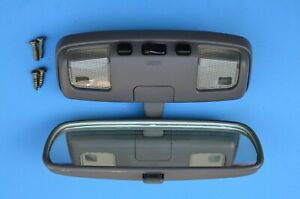 1990 1995 Toyota 4runner Genuine Oem Gray Interior Rear View Mirror With Screws