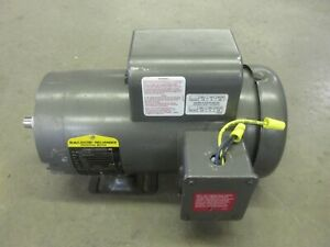 5 Hp Baldor Electric Motor 3450 Rpm Tested Works Great Mint Cond