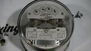 Ge Watthour Meter 3 Phase Vm 65 s Form 6s List D