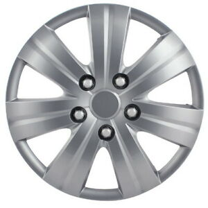 16 Inch Wheels Cover Matte Silver Wheel Car Cover For Car Tires Fits Toyota