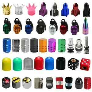 2 4 10 100pcs Car Truck Auto Wheel Tire Valve Stems Screw Cap Air Dust Cover