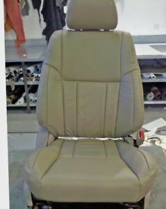 1999 2001 2002 Toyota 4runner Tan Leather Seat Covers 1 Back Rest And 1 Bottom