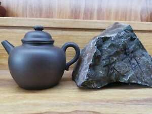 100 High End Clay Chinese Yixing Zisha Clay Handmade Quanniu Teapot 250cc
