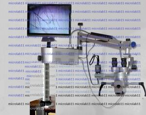 Portable Ent Microscope best Quality Optics with Camera Monitor for Ent