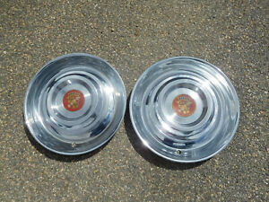 1954 1955 Cadillac Deville 15 Wheel Covers Hubcaps