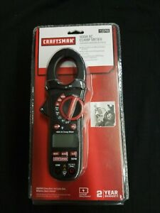 Craftsman 400a Ac Clamp Meter Test Leads 9v Battery Auto ranging Digital Measure