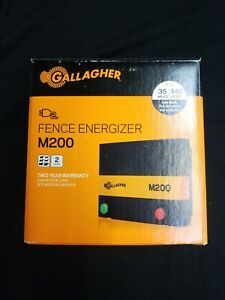 Gallagher M200 2 Joule 110 Volt Electric Fence Energizer