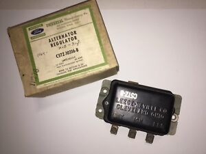 1964 65 66 67 68 69 Ford Passenger Fairlane Truck Alternator Voltage Regulator