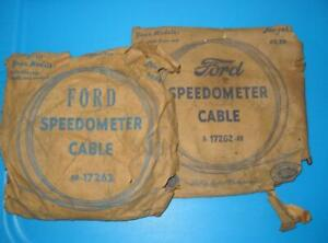5 Nos Ford Speedometer Cables 1935 1936 Model A 1949 1950 V8