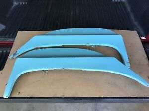 1964 1965 1966 Thunderbird Pair Of Fender Skirts From Arizona No Rust Dent