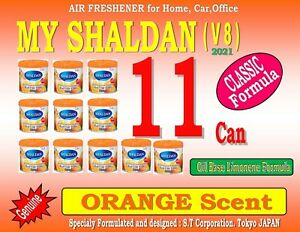 10 Can My Shaldan New Series V 7 100 Gram Air Freshener orange Scent