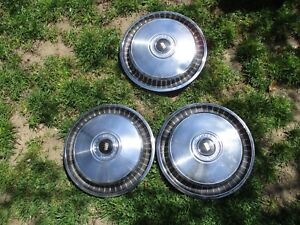 1971 72 Ford Galaxie Ltd 15 Hubcaps Wheel Covers
