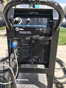 Miller Syncrowave 180 Sd Tig stick Welder Serial No La143508