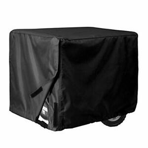 Portable Generator Cover Heavy Duty Universal Large Camping Outdoor Rv Black Big