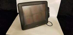 Radiant Systems P1515 0008 ba Pos Touch Screen Terminal Aloha With Card Reader