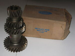 1955 1956 1957 1958 1959 1960 1961 1962 Ford Pass Fairlane 3 Sp Cluster Gear Nos