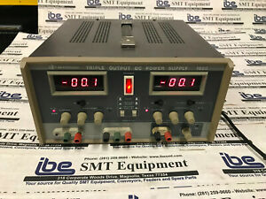 Bk Precision Triple Output Dc Power Supply 1660 With Warranty Included