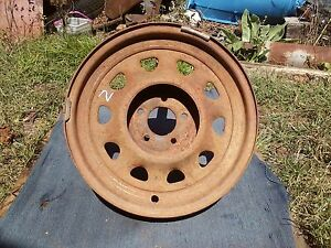 Hot Rat Rod 16 Inch Artillery Wheel 2 Model T A Ford Chevy Dodge Pontiac