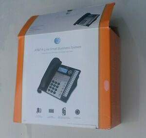At t 4 line Small Business System 1070 Speakerphone With Caller Id call Waiting
