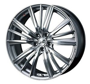 Weds Leonis Fy Wheels 17x7 0j 47 5x114 3 For Honda Integra Type R Made In Japan