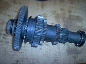 International 444 Tractor Ih Main Transmission Bottom Shaft And Gear Set