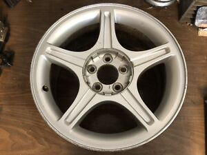 Ford Mustang Gt 17 Alloy Wheel 1999 2000 2001 2002 2003 2004 Used Oem Silver