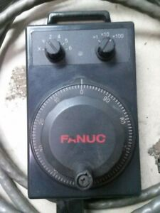 Fanuc Xa860 0202 t015 Manual Pulse Generator W Cable For 6 Axis Control