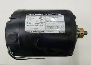 New Ao Smith Ac Motor 316p693 1 6hp 1725rpm 2h96 1ph 3 0a 60hz 115v 48fr 3 5sfa