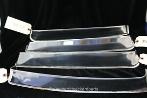 1955 56 Packard 4dr Side Window Vent Shade Set Nice