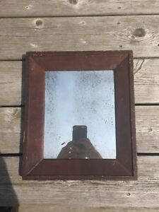 Antique Painted Mirror Frame Early 19th C Aafa