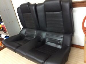 Ford Mustang Gt 2005 2006 2007 2008 2009 2010 Mustang Coupe Rear Seat Black