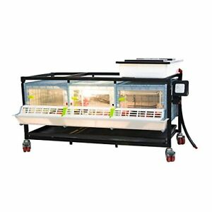 Poultry Brooder Chicken Quail Brooder Comfortplast Pvc Cages Patented Dsgn