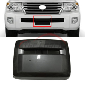 For Toyota Land Cruiser 200 08 17 Front Bumper Winch Cover Trim W Dragging Hole