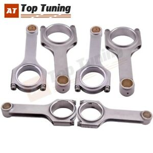 6pcs Forged Connecting Rods For Bmw M3 E36 E46 S50 S54b32 5 472 Arp2000 800 Hp