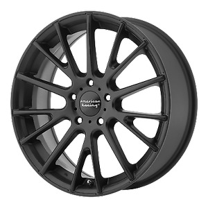 4 16 Inch Ar904 16x7 Black 5 Lug Rims Wheels 5x115 40mm
