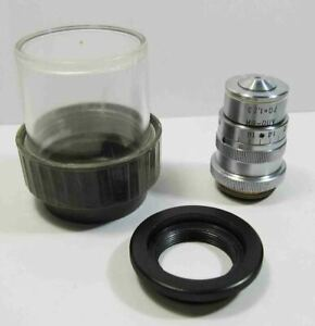 Lomo Achromat Objective 70x 1 23 Water Imm With Correct Ring Microscope Zeiss