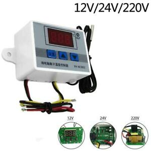 12v 220v Digital Led Temperature Controller Thermostat Control Switch Probe Bg