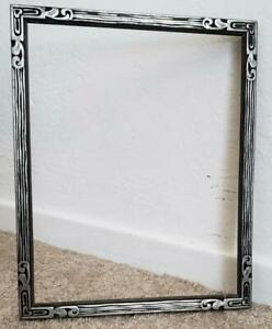 Vintage 1940 S Wood 7 1 2 X 9 1 2 Art Deco Old Picture Frame