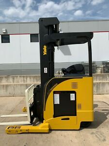 Yale Ndr035da Electric Deep Reach Truck Narrow Aisle Lift Forklift Stand Up