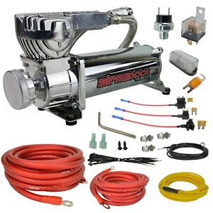 Airmaxxx Chrome 580 Air Compressor Avs Single Compressor Wiring Kit