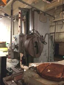 Lucas 4 Horizontal Boring Machine 441b 48