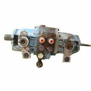 Used Hydraulic Pump Tandem Compatible With Bobcat 642 643 641 6648981
