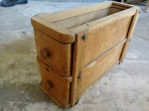 Vintage Singer Treadle Sewing Machine Cabinet Drawers And Frame