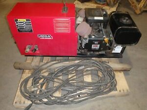Lincoln Electric Weldanpower 225 G7 Ac dc Engine Driven Welder W leads