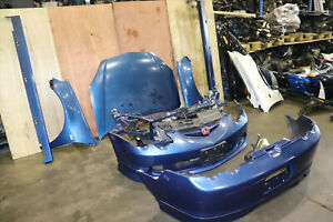 Jdm 02 04 Honda Dc5 Type R Acura Rsx Front End Nose Cut Bumpers Hood Skirts