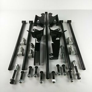 Stage2 Parallel Rear Suspension Four 4 Link Kit For 55 64 Gm Full Size