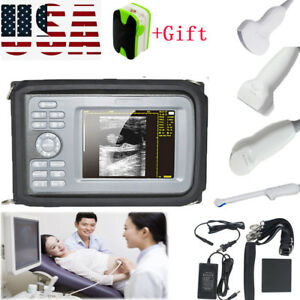Handheld Mini Ultrasound Scanner Diagnostic Machine Human Use convex Probe gift