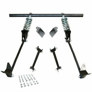 Triangulated Rear 4 Link W Coilovers 38 1938 Ford Coupe Club Standard Del